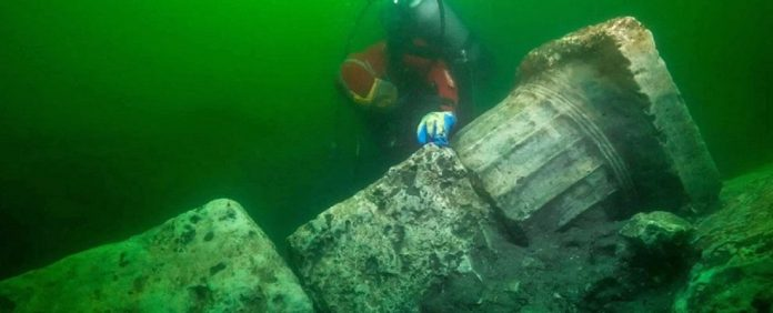 rovine sommerse di Heracleion